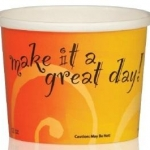 PAPER FOOD/SOUP CONTAINER 16oz 25/PACK – 20PCK/CS